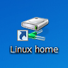 Linux homeアイコン